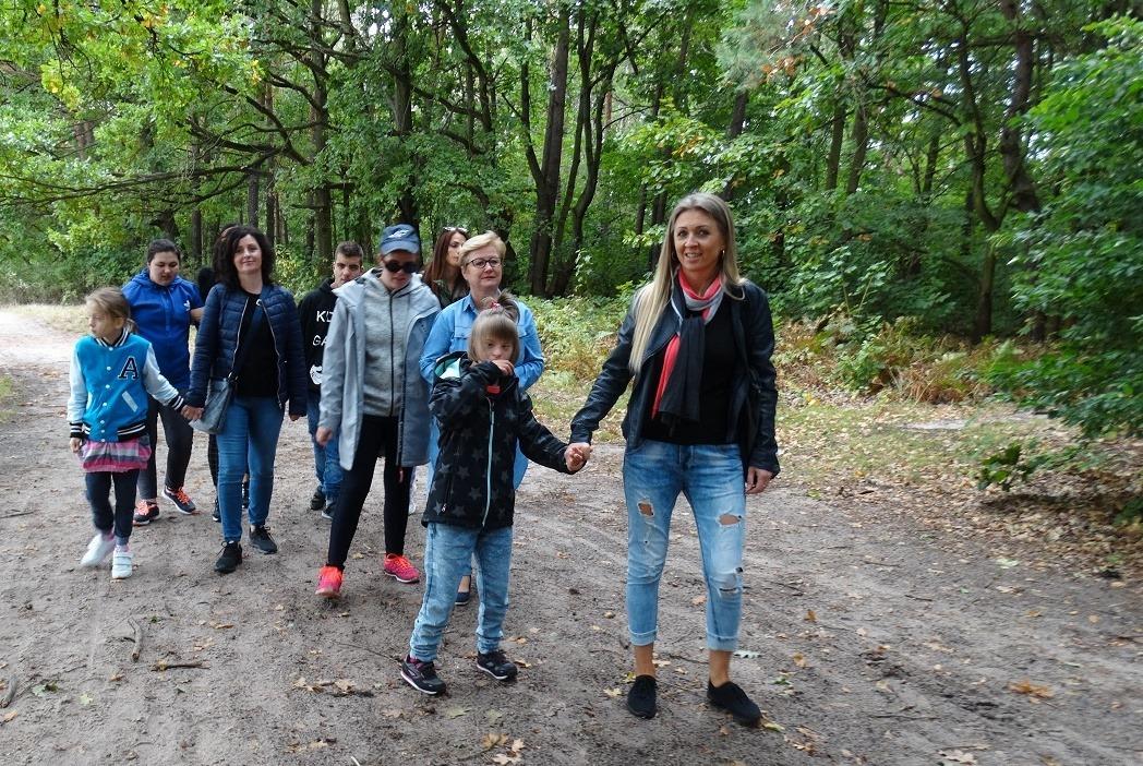 """Długi spacer do Rezerwatu Przyrody """"Jedlnia"""""""